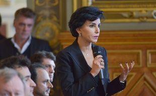 Rachida Dati, Maire (LR) du 7ème arrondissement de Paris. Illustration.