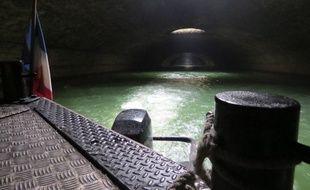 La partie souterraine du Canal Saint-Martin est longue de 2 kilomètres