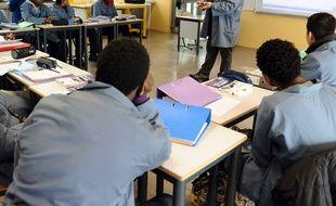 Photo d'illustration d'un lycée professionnel.