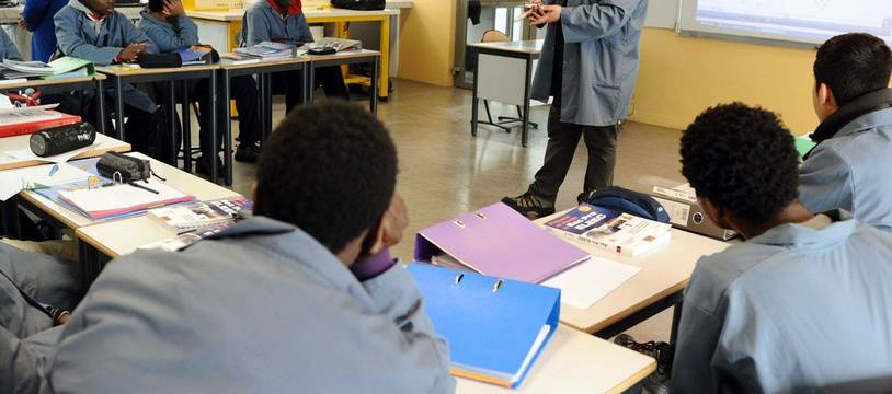 Photo d'illustration d'un lycée professionnel.