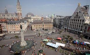 La Grand Place de Lille (Archives).