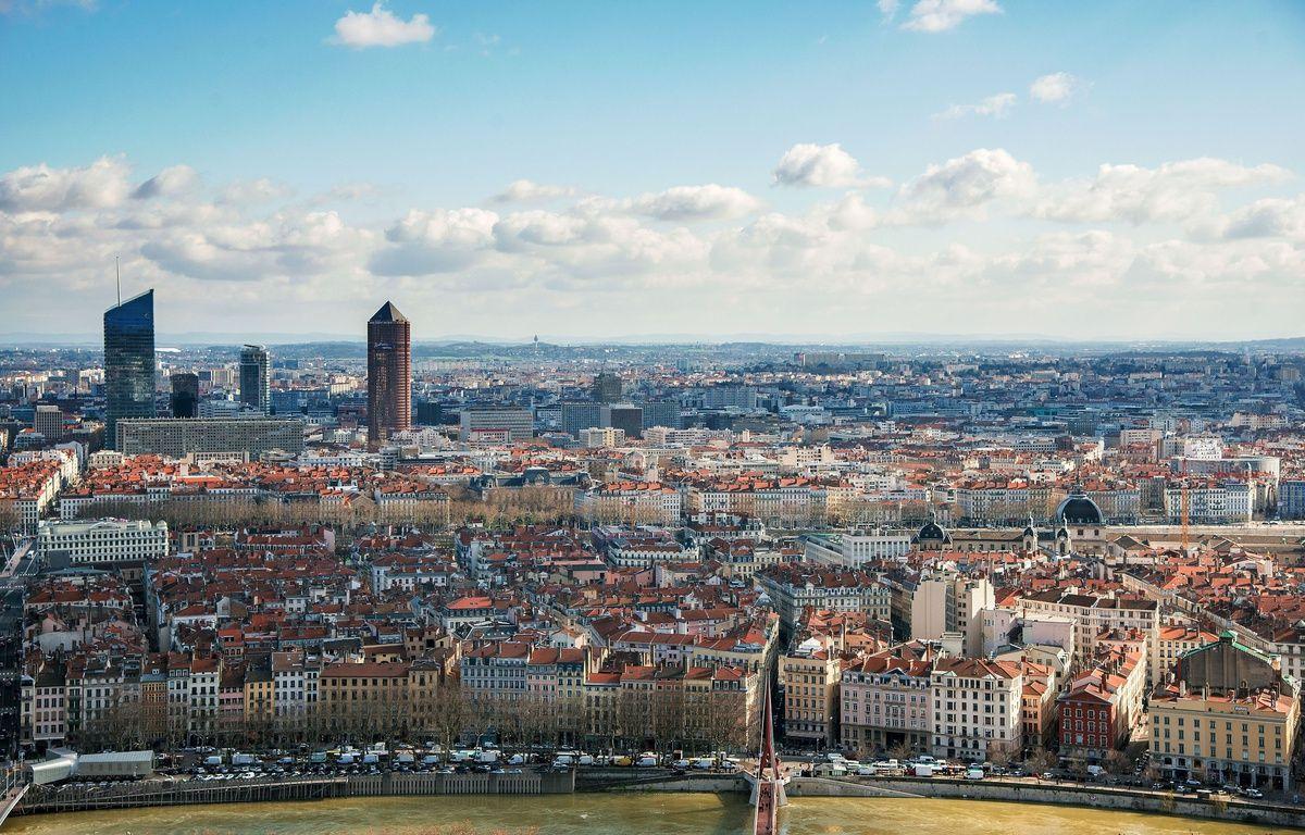 Lyon. Vue generale sur la Part Dieu depuis Fourviere Credit:Bony/SIPA/1602221647 – SIPA