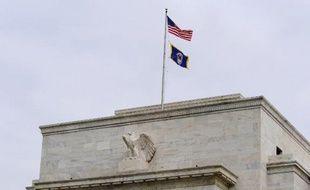 La façade du siège de la Réserve fédérale américaine à Washington, en 2008