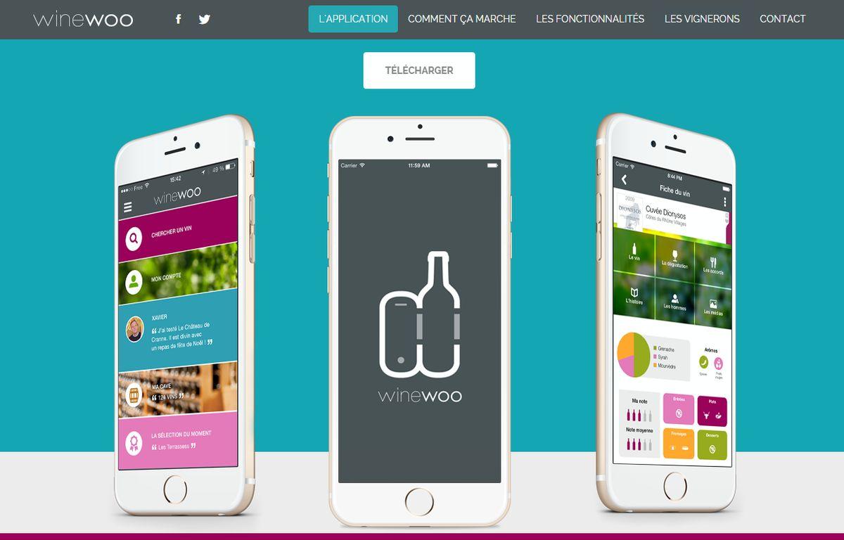 L'application Winewoo est d'ores et déjà disponible sur l'App Store – Winewoo