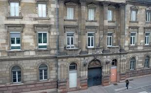 L'ancien commissariat central, rue de la Nuée bleue à Strasbourg, le 17 juillet 2018.
