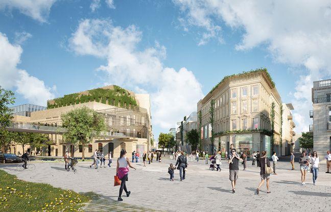 L'un des objectifs du projet de Rue Bordelaise, est de réaménager les quais de la Garonne au pied du pont Saint-Jean