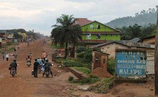 La localité de Beni, dans l'est de la RDC, le 20 octobre 2014