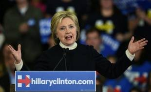 Hillary Clinton, le 9 février 2016 dans le New Hampshire