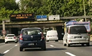 La préfecture de police a annoncé que la circulation alternée serait mise en place ce jeudi.