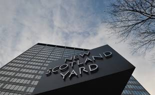 Les locaux de la police métropolitaine à Londres.