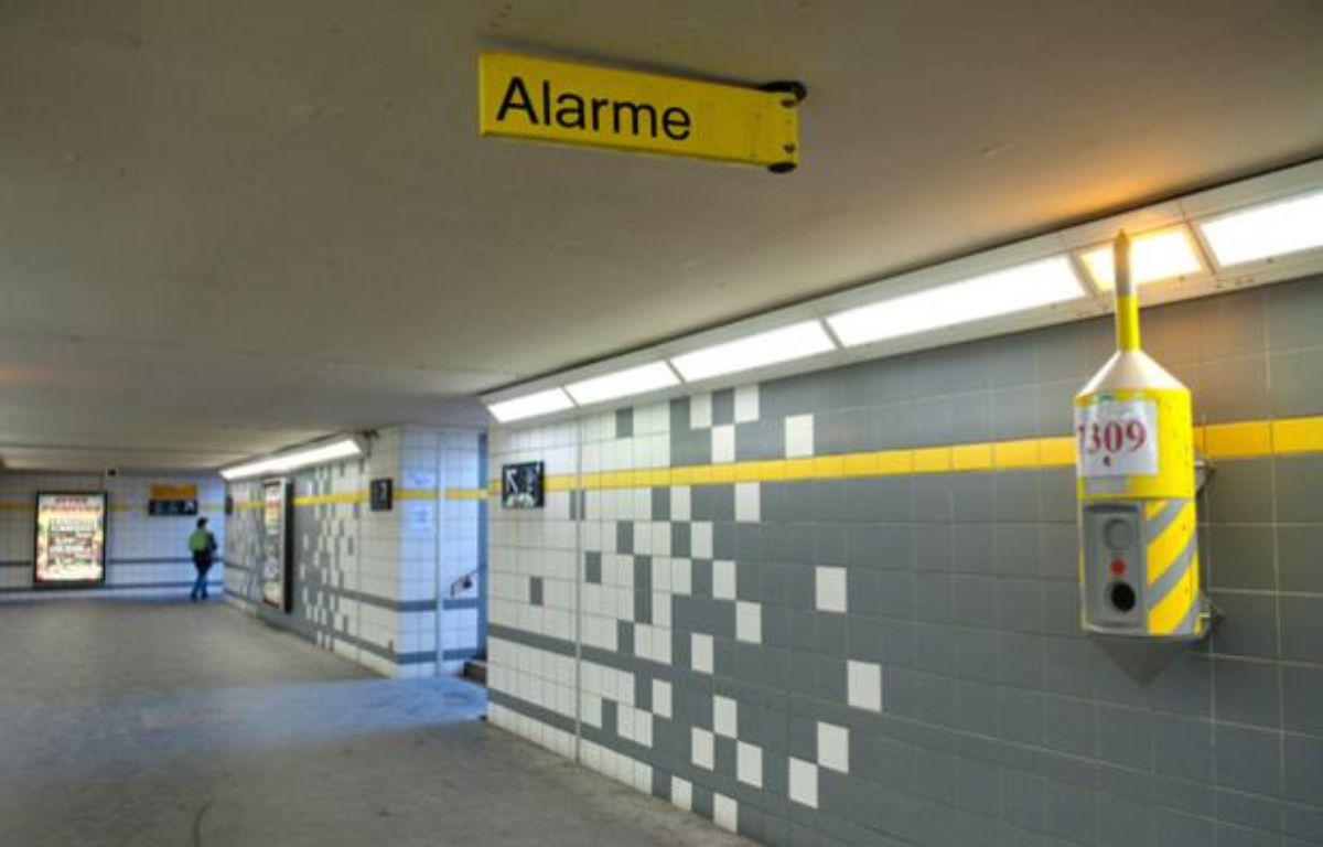 La gare RER de Noisy-le-sec, dans laquelle un jeune homme a été lynché samedi 2 avril dans la soirée, photographiée le 3 avril. – Sébastien Orola / 20Minutes