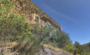 Le château de Castelnou.
