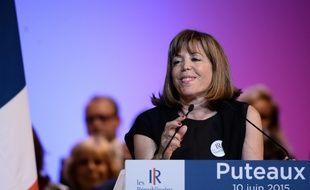 La maire de Puteaux Joëlle Ceccaldi-Raynaud, le 10 juin 2015 à Puteaux