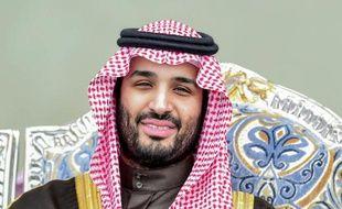 Portrait non daté fourni le 23 janvier 2015 par l'institut MISK du vice-prince héritier et ministre saoudien de la Défense Mohamed Ben Salmane