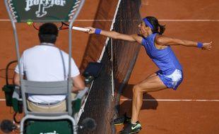 Caroline Garcia a remporté le duel franco-français face à Alizé Cornet.