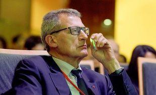 Jean-Cyril Spinetta le 19 septembre 2017 à Paris.