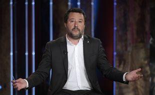 Le ministre de l'Intérieur italien Matteo Salvini.