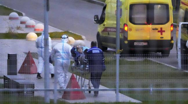 Coronavirus en Russie : Le record de contaminations battu pour la quatrième journée de suite