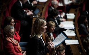 Bérangère Couillard à l'Assemblée Nationale, le 30 avril 2019.