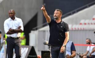 Franck Haise, l'entraîneur lensois