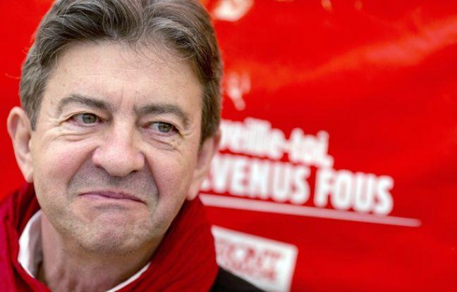 Jean-Luc Mélenchon, au Parc de la Courneuve lors de la Fête de l'Humanité, le 13 septembre 2014.
