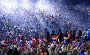 Lors de l'Eurovision 2014 à Copenhague.