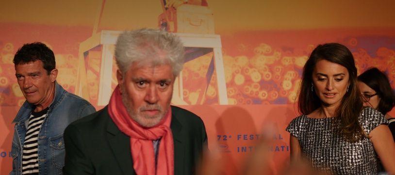 Pedro Almodóvar à la conférence de presse de «Douleur et gloire