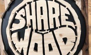 L'association Share Wood met à disposition de professionnels, comme de particuliers, tout le nécessaire pour travailler le bois.