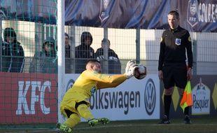 Nicolas Zaccarelli a arrêté trois tirs au but consécutifs en seizièmes de finale.