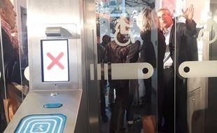 140 portes de validations seront installées dans la gare Saint-Lazare en 2019