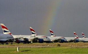 De nombreux avions ont été stockés à Châteauroux pendant le confinement et des mois après.