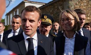 Emmanuel Macron en Vendée, le 13 juin 2018.