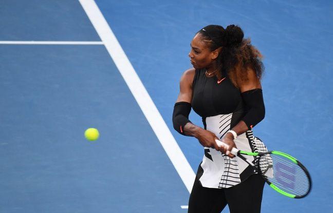 Serena Williams remporte l'Open d'Australie en 2017, alors qu'elle est enceinte de deux mois.