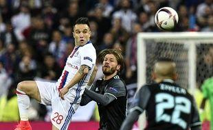 Mathieu Valbuena s'est à nouveau démené jeudi contre l'Ajax.