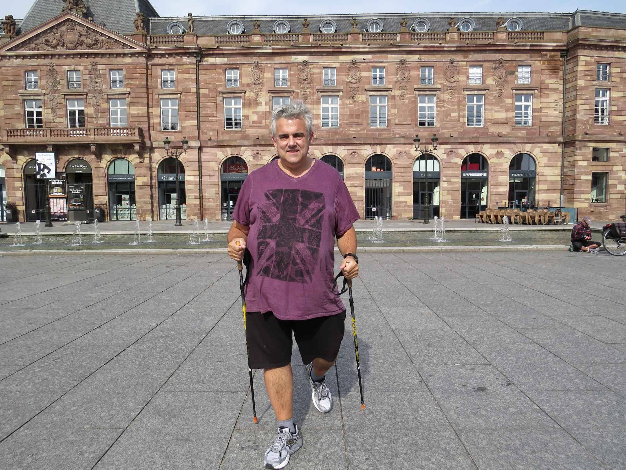 Strasbourg jean luc loiseau a termin sa marche contre l 39 ob sit - Jean luc petitrenaud sante ...