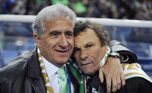 Bernard Caïazzo et Roland Romeyer.