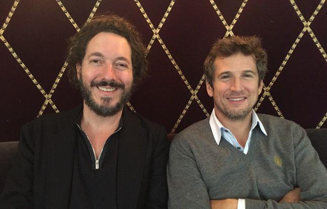 Guillame Gallienne et Guillaume Canet, acteur de Cézanne et moi de Danièle Thompson