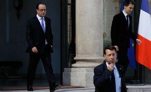 François Hollande quitte l'Elysée le 15 juillet 2016.