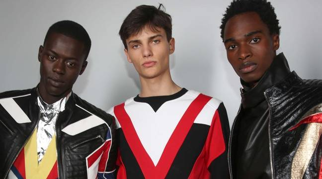 d38cb863 Olivier Rousteing was inspired by Michael Jackson for the Balmain Homme Show