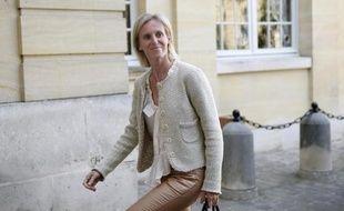 La secrétaire d'Etat chargée des personnes handicapées, Ségolène Neuville, le 10 avril 2014 à Paris