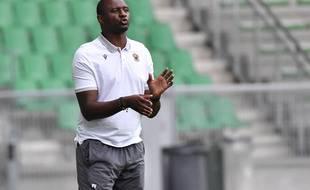 Patrick Vieira a entraîné Nice de 2018 à 2020