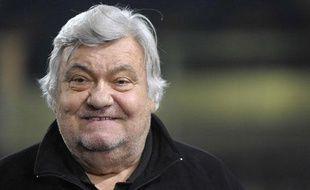 Louis Nicollin, le 18 janvier 2011, à Montpellier.