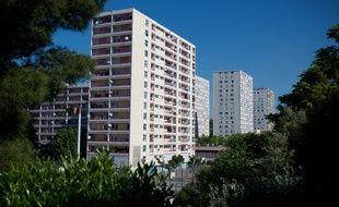 Marseille le 17 mai 2011 - La citéŽ de la Busserine dans les quartiers nords de Marseille