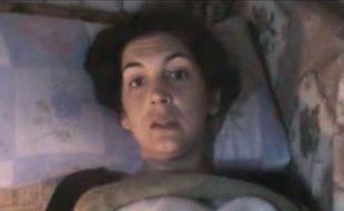 Capture d'écran d'une vidéo montrant la journaliste française Edith Bouvier à Homs (Syrie), le 23 février 2012.
