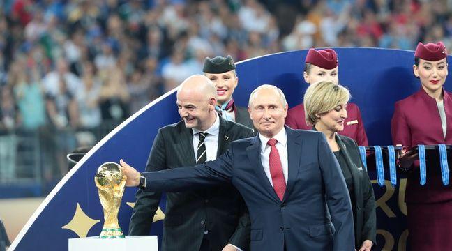 Coupe du monde 2018 vladimir poutine l 39 autre grand gagnant du mondial - Gagnant de la coupe du monde ...