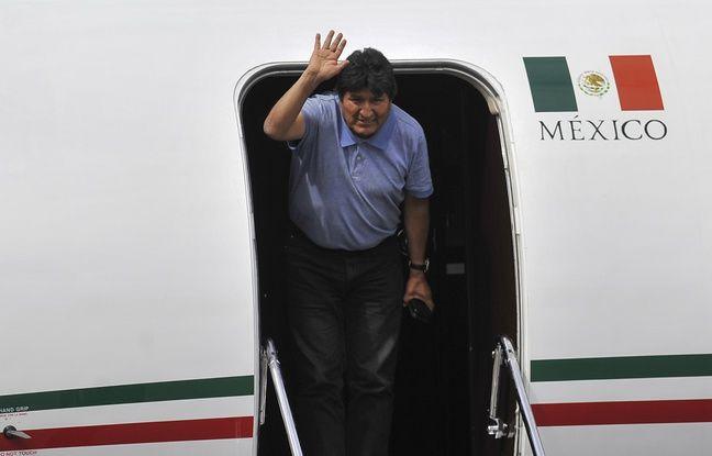 Bolivie : Le président démissionnaire Evo Morales est arrivé au Mexique