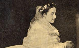 L'impératrice Eugénie, épouse de Napoléon III.