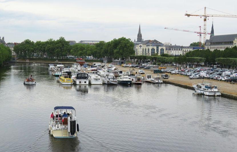 Nantes : Un corps repêché ce jeudi matin dans le canal Saint-Félix