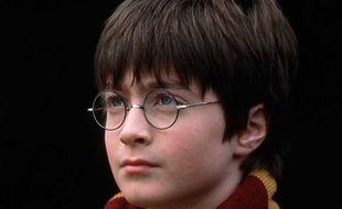 Daniel Radcliffe dans Harry Potter à l'école des sorciers.