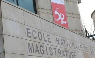 A l'Ecole nationale de la magistrature, en février 2008.